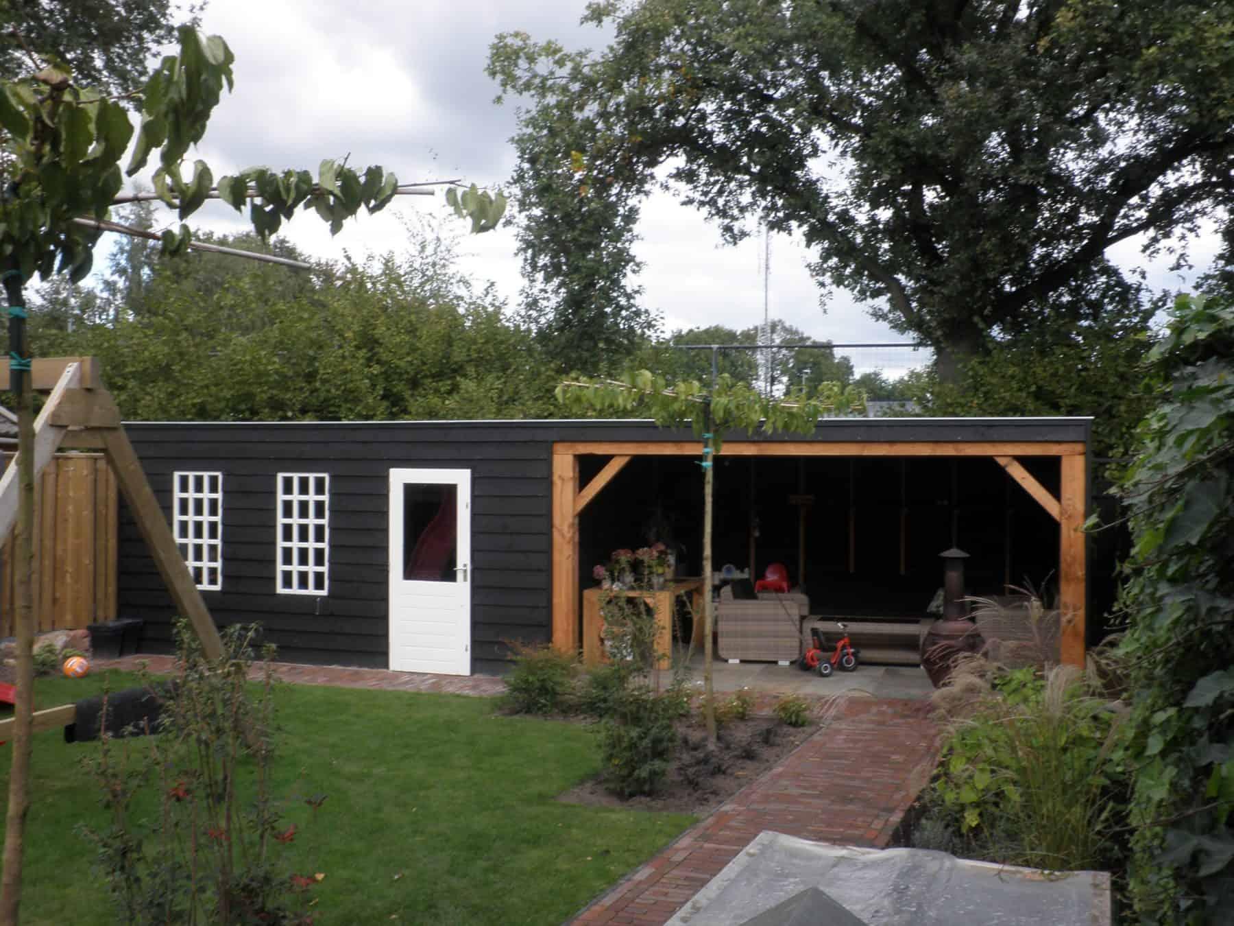 Van de Schoot Hoveniers houten overkapping 6