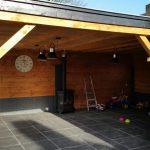 Van de Schoot Hoveniers houten overkapping 3